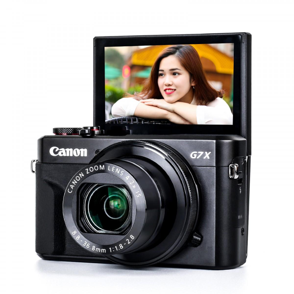 佳能PowerShot G7 X Mark II数码相机 美妆卡片机佳能g7x2 mark2