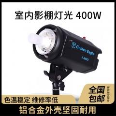 金鹰400E 影室闪光灯 摄影器材摄影灯 室内影棚灯光 400W