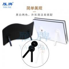 雁牌新款相册摆台免钉支架影楼后期相框摆台塑料支架托架背板支撑架照片支架