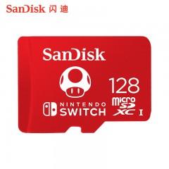 sandisk闪迪TF内存128G卡switch游戏机内存储卡通用microsd存储卡