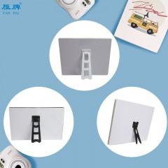 雁牌相框摆台燕尾支架梯形支架照片背板摆台相框支架影楼相架