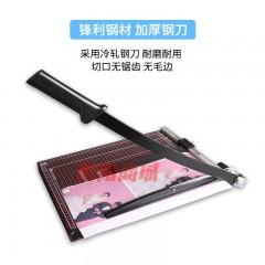 立巧A4切纸刀手动木质裁纸刀裁纸铡刀裁纸机小型相片照片裁剪器