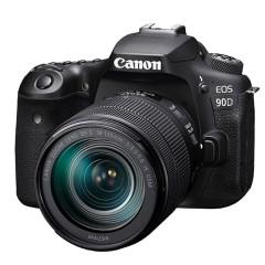 佳能90d单反相机18-135套机专业数码高清旅游eos90d机身