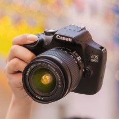 canon佳能EOS 1500D单反相机支持WIFI入门家用数码相机证件照学生