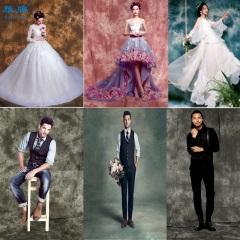 雁牌扎染背景布影楼婚纱拍照儿童油画摄影服装产品童装拍摄扎染布