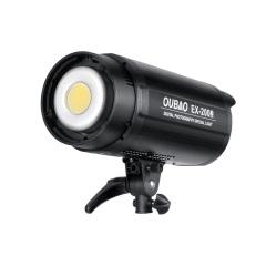 欧宝EX200W三代摄影补光手机直播视频儿童拍摄影棚柔光常亮太阳灯