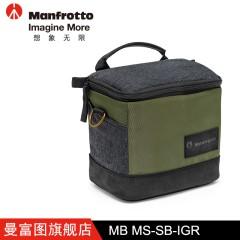 曼富图MB MS-SB-IGR数码相机单反微单镜头保护摄影器材单肩包包邮