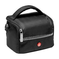 曼富图MB MA-SB-A1数码单反相机镜头保护摄影包单肩背包斜肩包