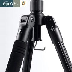 faith辉驰采拍0.6秒一拉即锁单反微单旅游专业便携三脚架FT-C6022