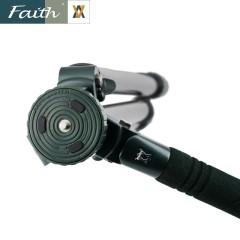 faith辉驰金钢系列FT-F3203 极地专用耐寒重型铝镁合金三脚架