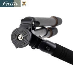 Faith辉驰 专业摄像机单反相机三脚架碳纤维碳素三脚架FT-B4501