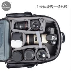 阿尔飞斯户外摄影包双肩单反专业摄像机背包女佳能尼康单反相机包