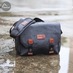 相机包单反包斜挎复古迷你微单轻携佳能尼康防水摄影包单肩包