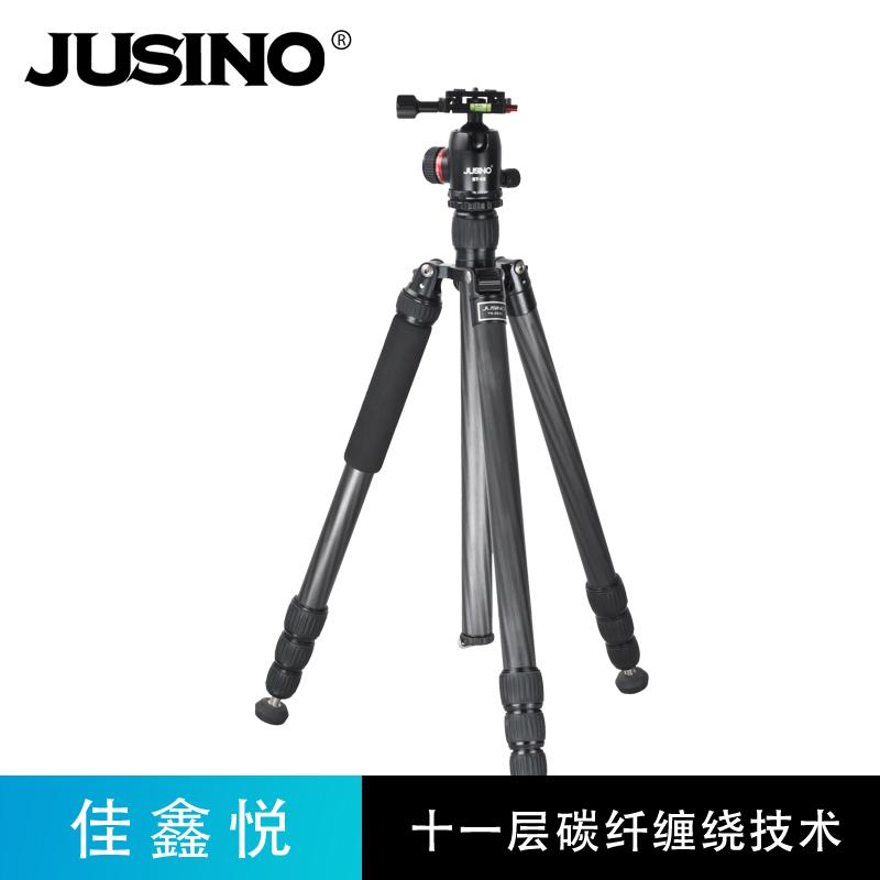 佳鑫悦TK254C专业摄影微单反相机便携碳纤维三脚架变独脚架登山杖