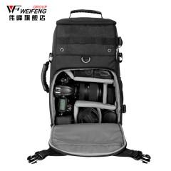 伟峰WF-6200专业单反相机双肩背包 防盗包 复古摄影包 数码相机包
