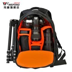伟峰专业防盗单反相机包 双肩摄影包 休闲数码单反包 摄像机背包