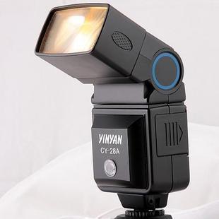 银燕 CY-28A 相机外接闪光灯 通用型  1年质保 送柔光罩