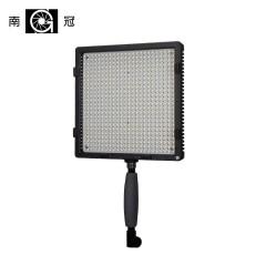 南冠LED补光灯摄影棚套装外拍摄像灯影室拍照柔光电影灯576三灯装
