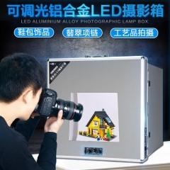 南冠LED柔光箱迷你摄影棚套装淘宝拍照灯箱小型简易静物拍摄影棚