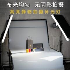 南冠LED摄影补光灯影视长亮打光灯人像摄影棚灯大功率柔光拍照灯