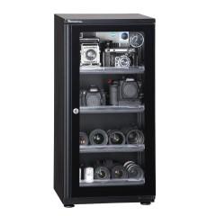 万得福电子防潮箱AD-109CH干燥箱柜106L除湿机单反数码存储柜
