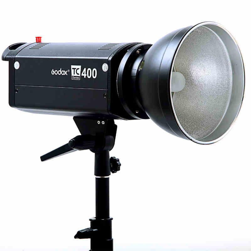 神牛TC400W摄影灯摄影棚单灯补光灯摄影灯泡淘宝拍照小型摄影器材