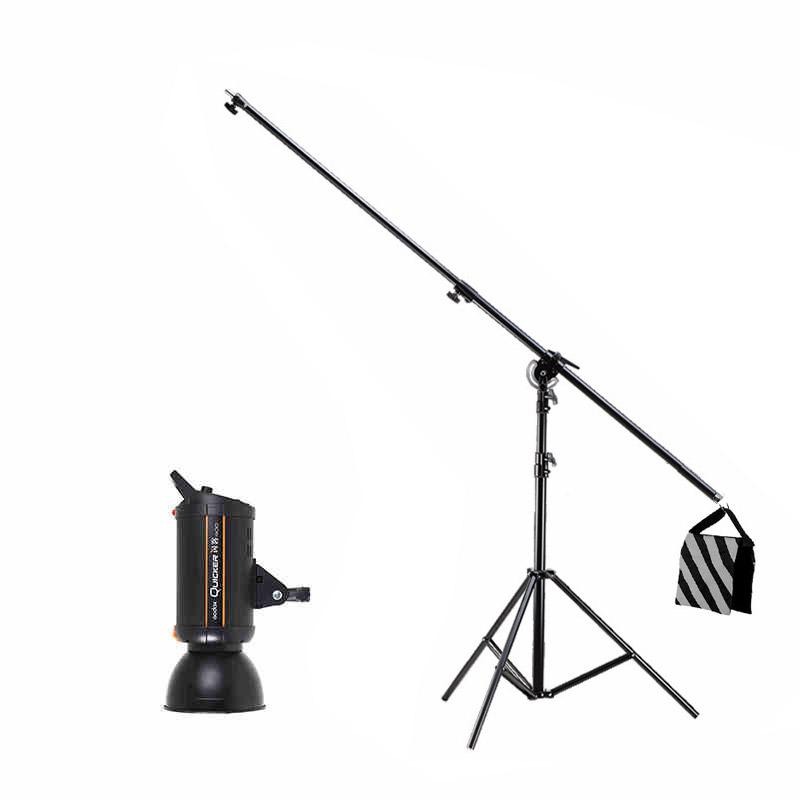 神牛闪客400W人像摄影棚高速闪光灯带顶灯架影室灯摄影灯1/5000秒