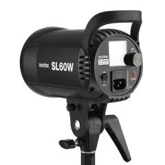 神牛SL60太阳灯LED摄影灯sl-60 视频摄像灯补光灯儿童电影灯光60w