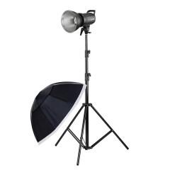 神牛SL60W太阳灯 LED补光灯摄影室内摄像补光灯打光灯黄光版套装