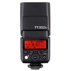神牛TT350C闪光灯单反佳能5d3相机ttl高速同步离机小型迷你机顶灯