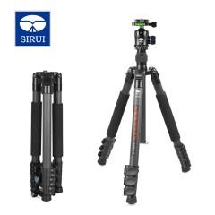 思锐ET2204+K20X 三脚架云台 单反相机摄像便携碳纤维支架三角架
