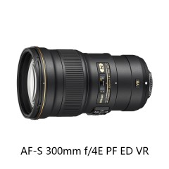 Nikon/尼康 AF-S 尼克尔 300mm f/4E PF ED 防抖镜头